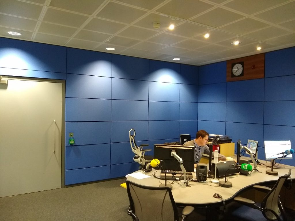 Fixing sound reverberation problems for the BBC